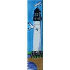 2x8.5 White Lighthouse Left