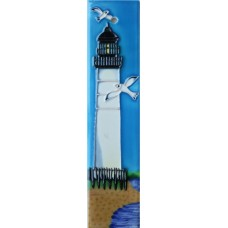 2x8.5 White Lighthouse Left