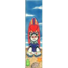 2x8.5 N-RSC    Heart Surfboard Cat